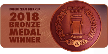 Dublin Craft Beer Cup 2018 Bronze Medal